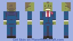 The Yes Guy Of Pesto Of the Simspons Minecraft Skin