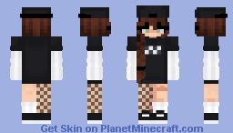 E girl mood Minecraft Skin