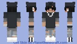 Edgy Guy Minecraft Skin