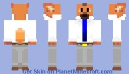 Ookami (大上) Aggretsuko Minecraft Skin
