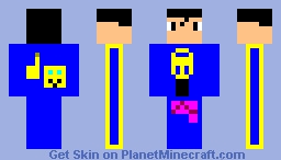 I got an Idea Skin Minecraft Skin