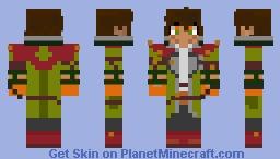 [ UMBRE ] Oscar Pine (RWBY) Minecraft Skin