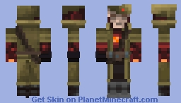 """Red Bliss"" Minecraft Skin"
