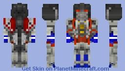Starscream form Bumblebee movie! Minecraft Skin