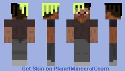 Jah Steve Minecraft Skin