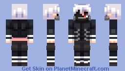 ken kaneki Minecraft Skin