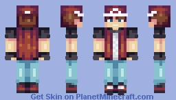 Trainer Red Minecraft Skin