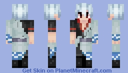 gintoki our savior (preview does not do him justice jesus christ) Minecraft Skin