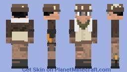 Archaeolo-Jess [StW] Minecraft Skin