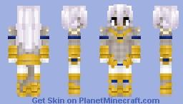 Arjuna Alter (Berserker) アルジュナ〔オルタ〕 Fate/GrandOrder Minecraft Skin