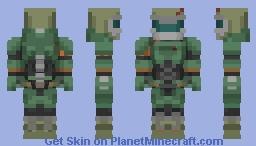 Doom Slayer (2016) Minecraft Skin