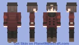 Shinjiro Aragaki // Persona 3 Minecraft Skin