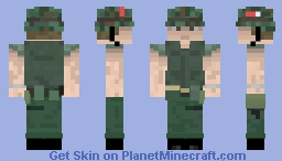 Full Metal Jacket Minecraft Skin