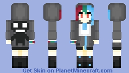 Game Gear! (Sega Hard Girls) Minecraft Skin