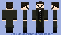 Godless - Gatz Brown Minecraft Skin