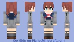 Miku - Code: 390 (Darling in the FranXX) Minecraft Skin
