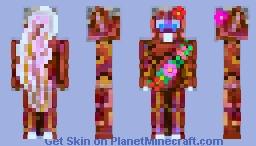Woodland's Party Squirrel Minecraft Skin