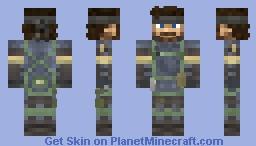 Naked Snake Peace Walker Suit: (Metal Gear Peace Walker) Minecraft Skin