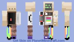 Malfunction Minecraft Skin