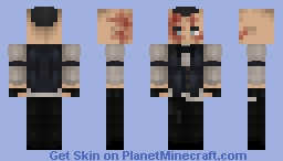 Outlast: Whistleblower | Eddie Gluskin Minecraft Skin