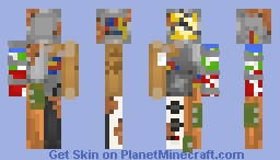 Refurbished Parts - (Scrapyard Creations) Minecraft Skin
