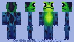 Poison frog Minecraft Skin