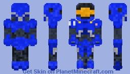 Terran Marine (SC2) Minecraft Skin