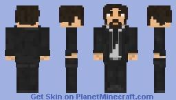 John Wick Minecraft Skin