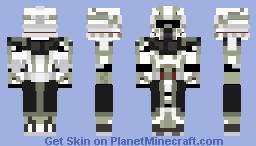 Commander Trauma - Star Wars: The Clone Wars Minecraft Skin