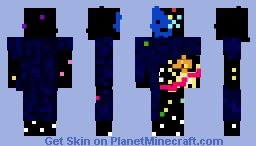Eternity (Marvel Comics) Minecraft Skin