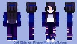ᴀʟʟ ɴɪɢʜᴛ - ιмαqιиє Minecraft Skin