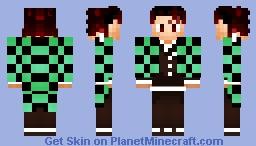 Tanjirou Kamado(Edited) Minecraft Skin