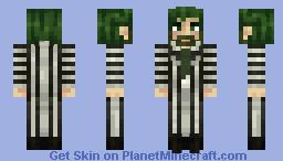 Beetlejuice - Beetlejuice Musical Minecraft Skin