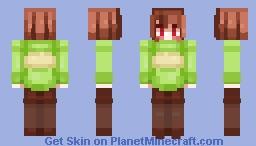 Chara Minecraft Skin