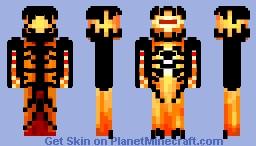 [DEEP SPACE ENTRY] - Super-Nova Eldritch Being Minecraft Skin