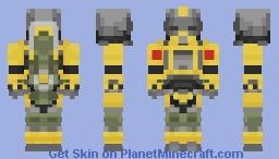 Excavator Power Armor Minecraft Skin