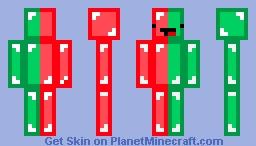 Gucci Skeppy Minecraft Skin