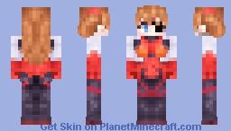 Asuka - Evangelion (redone) Minecraft Skin