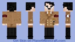 Adolf Hitler - Führer of the III Reich Minecraft Skin