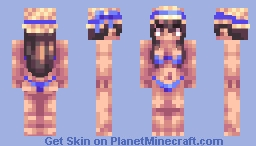 It's Swimming Time ! (Summer Vacation contest entry) Minecraft Skin