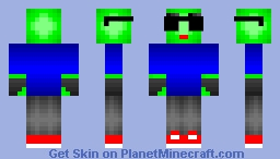 Mr. Alien Minecraft Skin