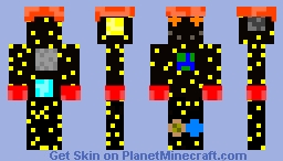 Our solar system Minecraft Skin