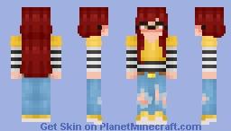 ~ E-Girl Energy ~ ℜ€Ð Minecraft Skin