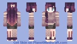 Cursed Minecraft Skin