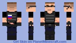 Dimitrov The Russian Hitman Minecraft Skin