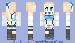 ミライアカリ / Mirai Akari (Virtual Youtuber) Minecraft Skin