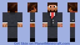 Business Jschlatt Minecraft Skin