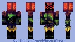 Pumpkin Solider Minecraft Skin