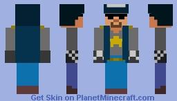 Space Cop Minecraft Skin