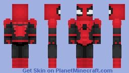 Spider-man Minecraft Skin